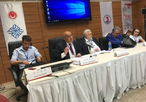 Corresponding member of ANAS, Professor Musa Qasimli gave a speech at the international symposium