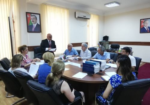 The next meeting of the Scientific Council of the Institute was held.
