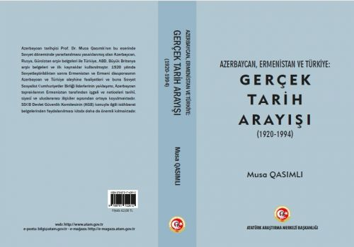 The monograph of Musa Qasimli was published in Turkey