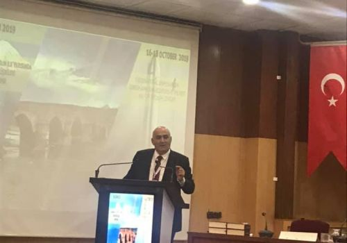 "Musa Qasimli spoke at the ""1st International Symposium on Turkish-Armenian Relations in the First Half of the 20th Century"""