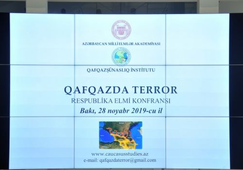 "Republican scientific conference on ""Terror in the Caucasus"" was held"